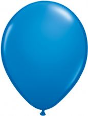 Qualetex Dark Blue Balloons 6 Pack